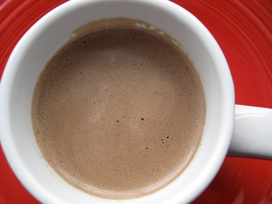 impromptu hot cocoa