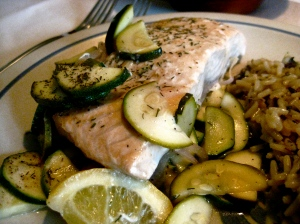 salmon & zucchini 5